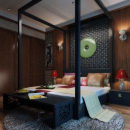 دانلود مدل سه بعدی اتاق خواب لوکس از Global Masterwork
