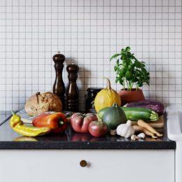 دانلود آبجکت میوه و سبزیجات از 3D Collective