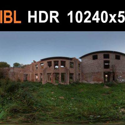 HDRI محیط تخریب شده
