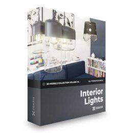دانلود مجموعه آبجکت لامپ و چراغ روشنایی از CGAxis